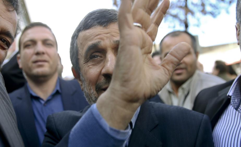 قمار احمدی نژاد!