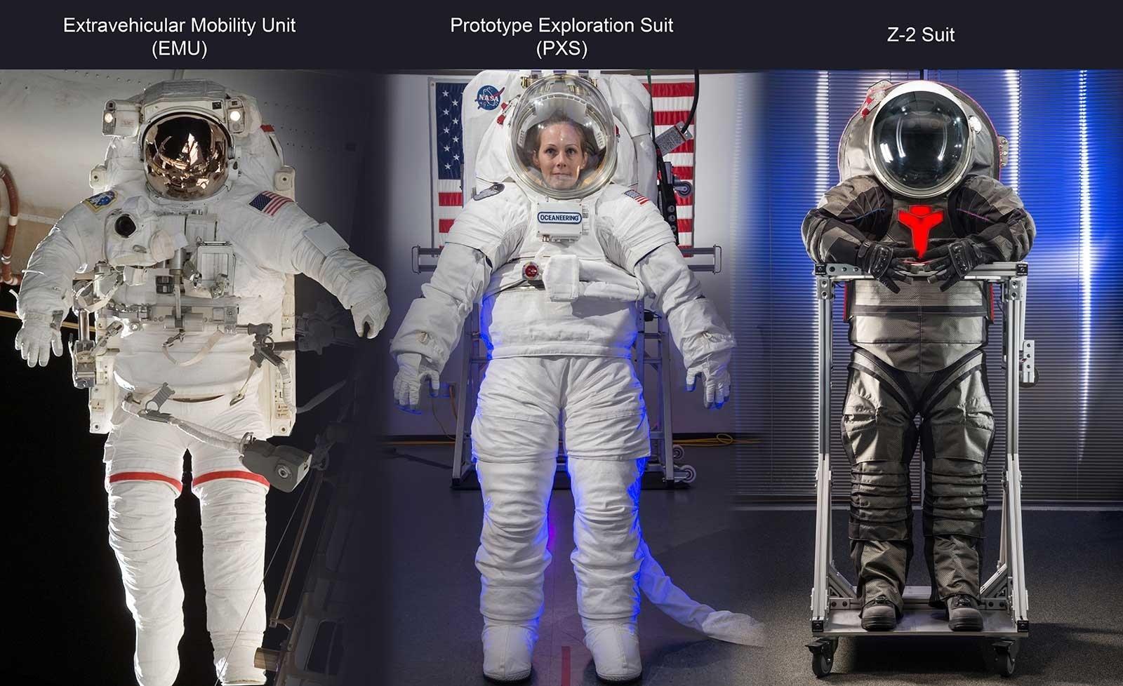 لباسهای فضانوردی جدید ناسا، مجهز به توالت اورژانسی