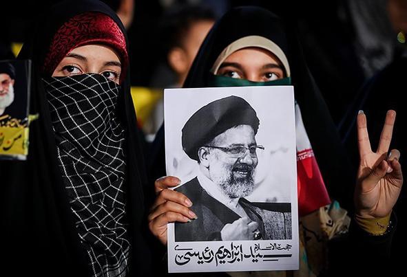 (تصاویر) اولین همایش انتخاباتی رئیسی در تهران