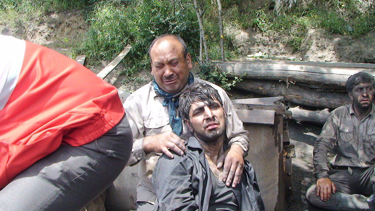 تلفات انفجار معدن گلستان