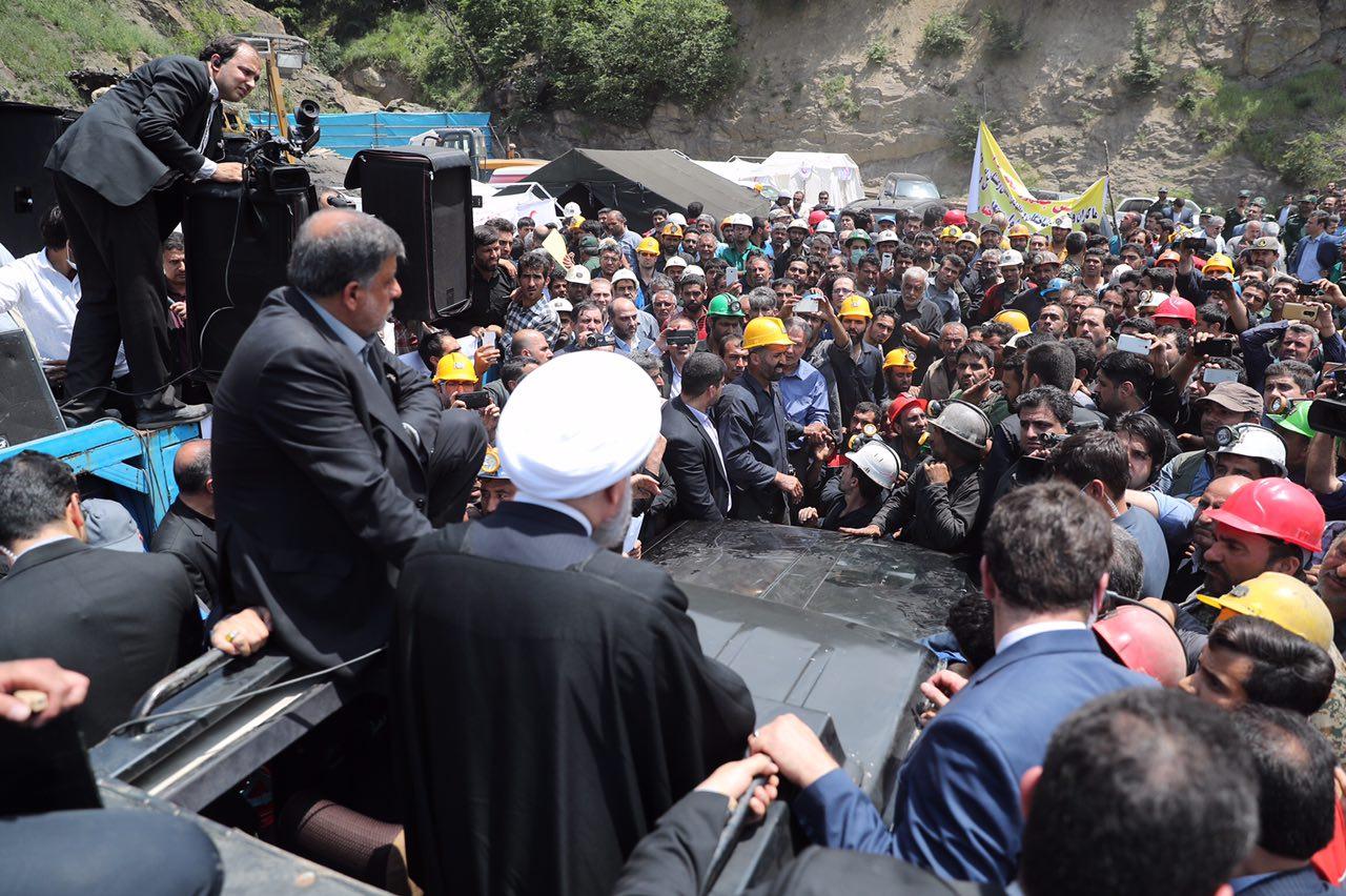 اعتراض کارگران به رییس جمهور نشانه چیست؟
