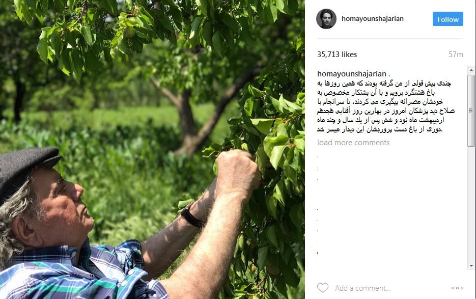 تازهترین عکسهای محمدرضا شجریان
