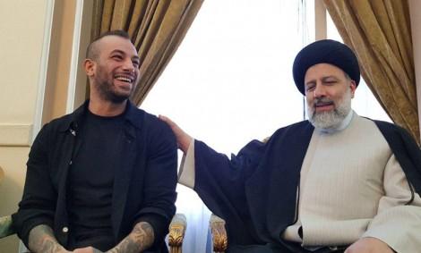 (ویدئو) دیدار تتلو با ابراهیم رئیسی