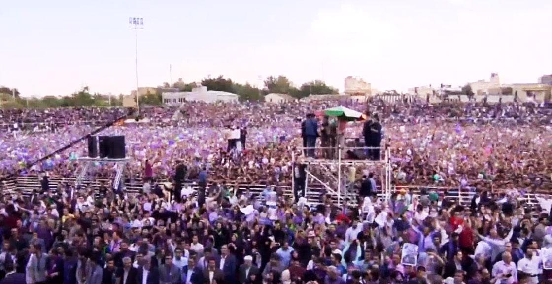 (تصاویر) حواشی سفر روحانی به مشهد