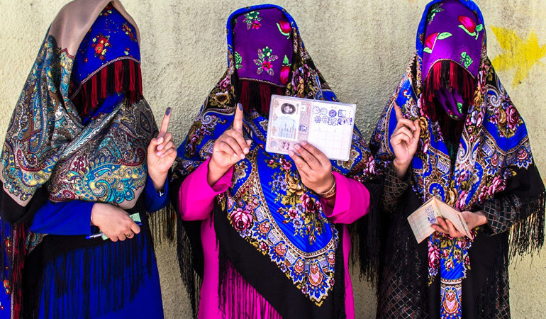 امروز به روایت تصویر// مردم پای صندوقهای رأی در سراسر کشور و ...