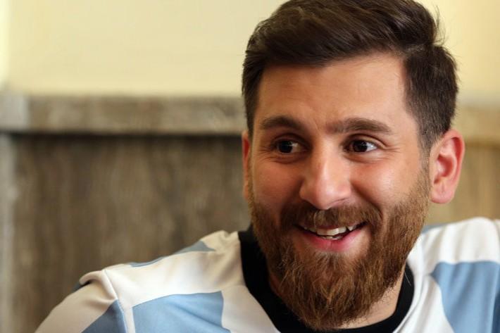 (تصاویر) بدل ایرانی لیونل مسی