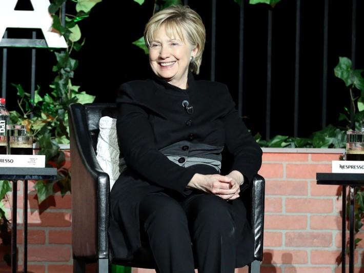 (تصاویر) هیلاری کلینتون پس از انتخابات