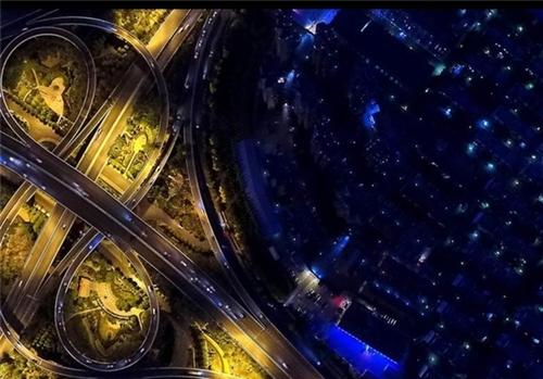 بزرگترین پل هوایی چین/تصاویر