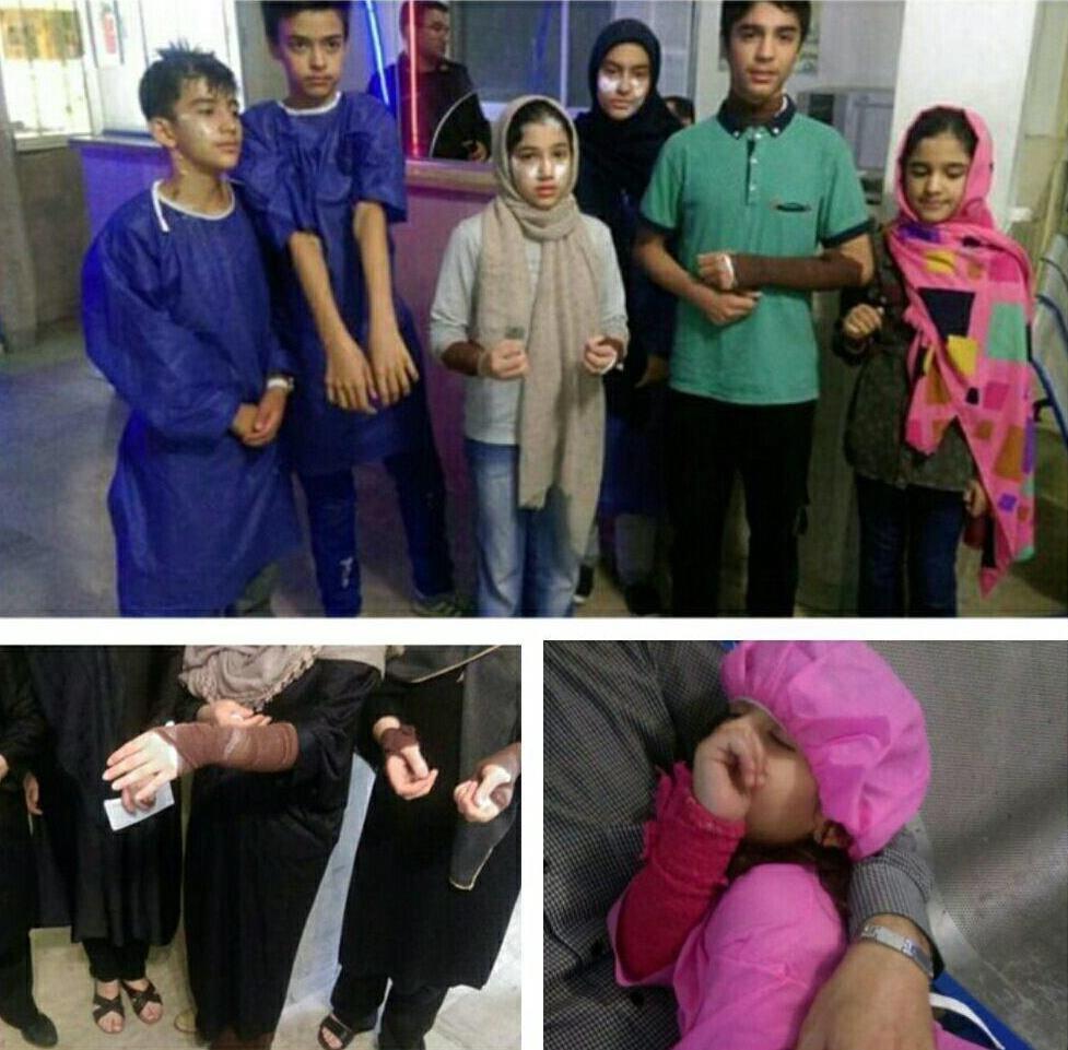 اسیدپاشی به 16 نفر در بلوار فدائیان اسلام
