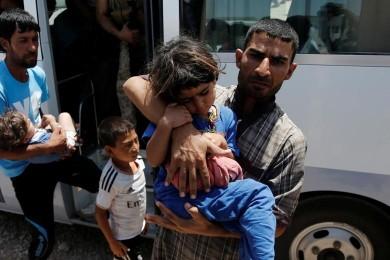 (تصاویر) مسمومیت ۸۰۰  پناهجو در کمپ عراقی