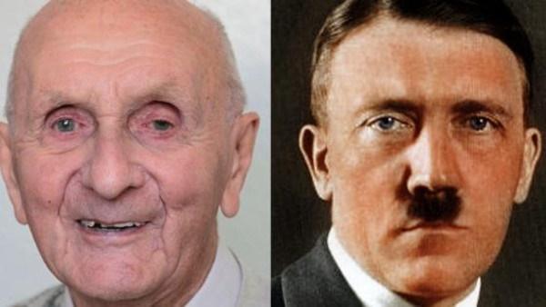 (عکس) مرد ۱۲۸ ساله ادعا میکند که هیتلر است!