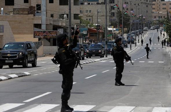 (تصاویر) تدابیرشدیدامنیتی در سفر ترامپ به بیتلحم