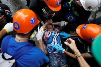(تصاویر) شلیک به تظاهرکنندگان در کاراکاس