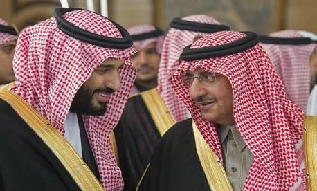 (ویدیو)دیدار ولیعهد قبلی با ولیعهد جدید عربستان