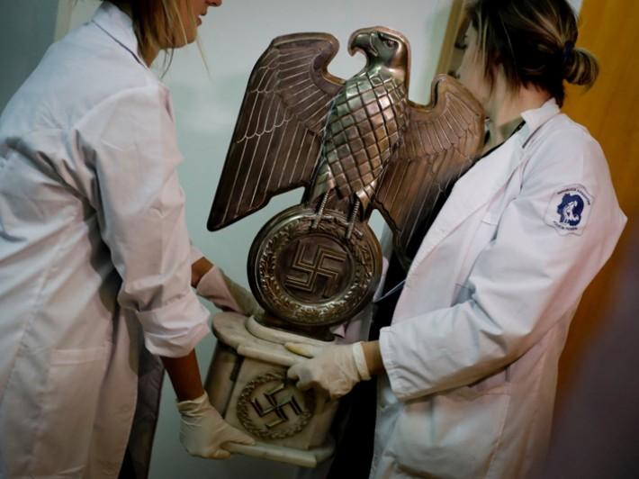 (تصاویر) کشف گنجینه نازیها در آرژانتین