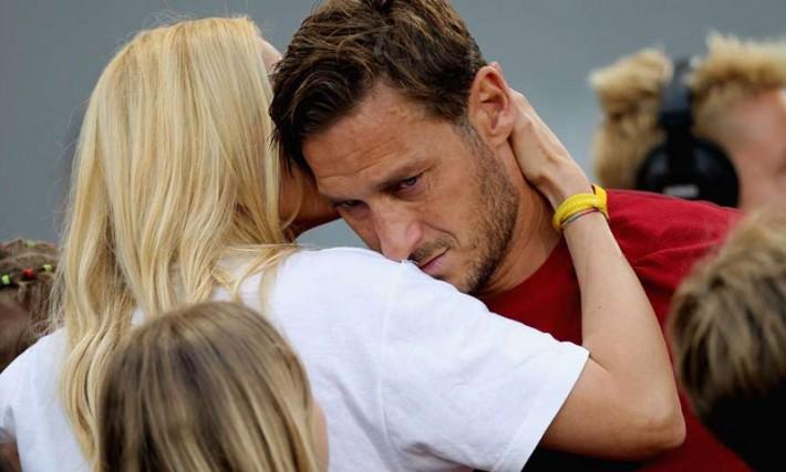 (تصاویر) خداحافظی باشکوه فرانچسکو توتی