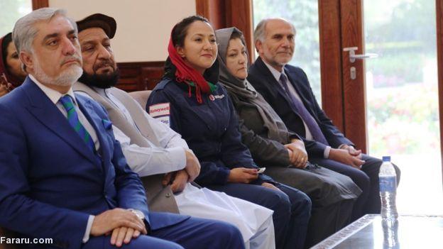 (تصاویر) سنت شکنی یک دختر افغان