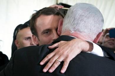 (تصاویر) نتانیاهو میهمان ماکرون