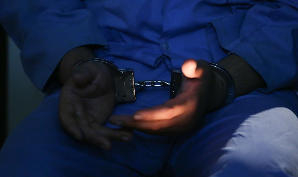 (تصاویر) قاتل آتنا اصلانی در زندان