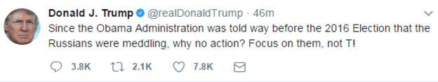 ترامپ اوباما را متهم کرد