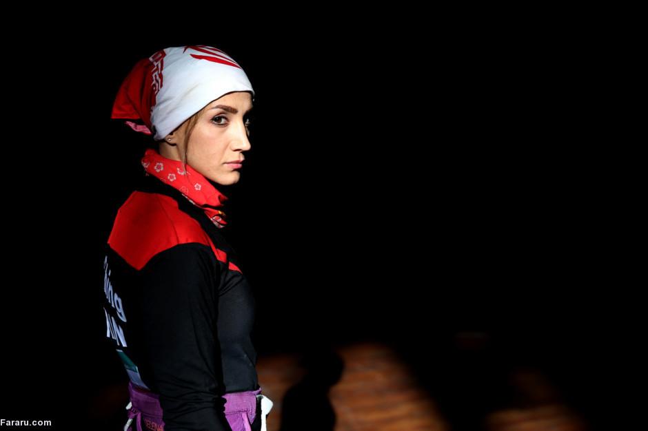 دختر عنکبوتی ایران