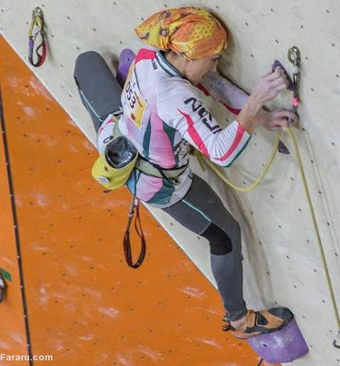 (تصاویر) دختر عنکبوتی ایران!
