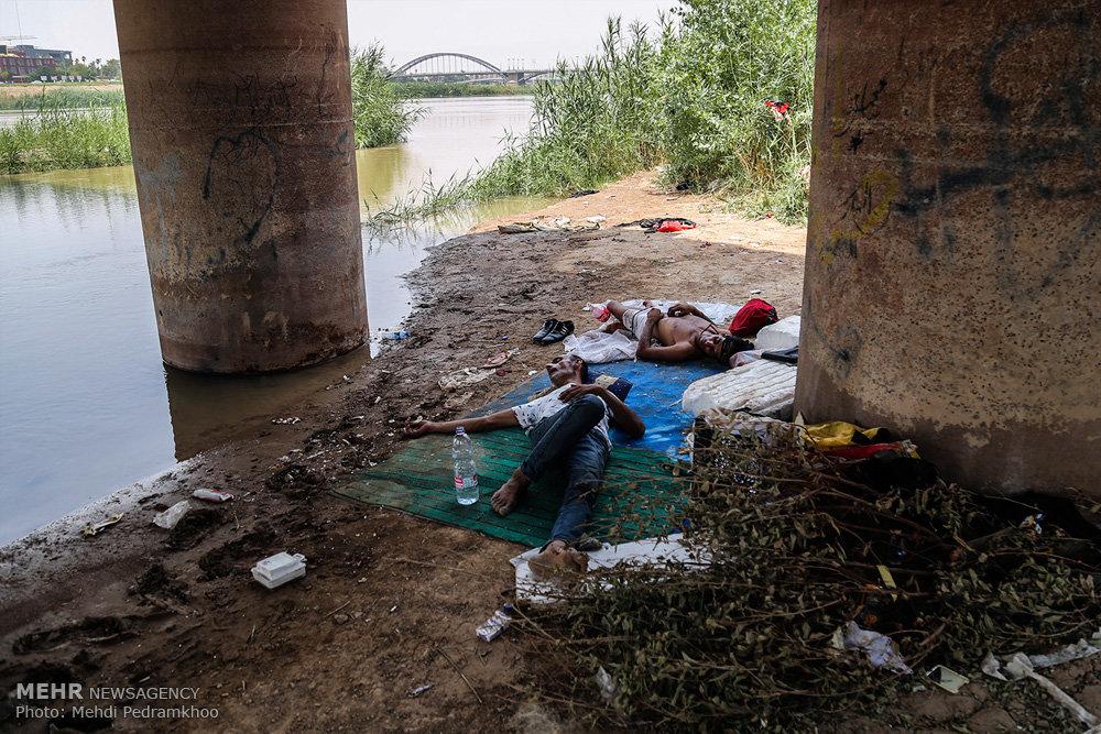 خسارات مالی و جانی گرما در خوزستان