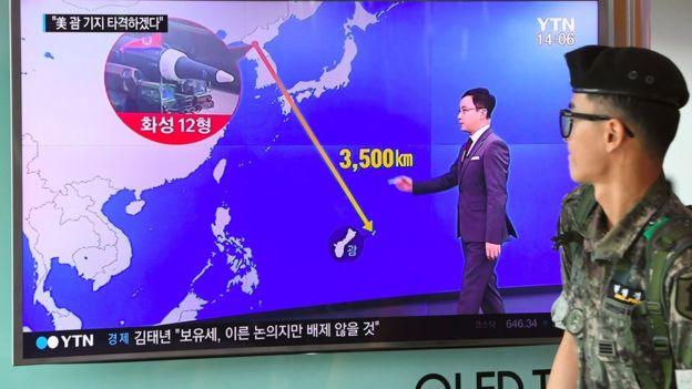 ادامه جنگ لفظی میان آمریکا و کره شمالی