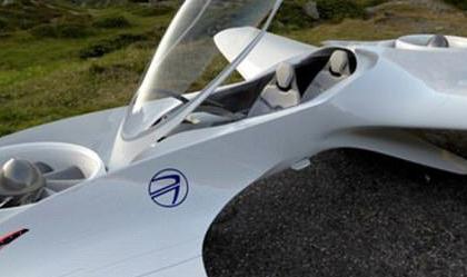 (تصاویر) خودروی پرنده با قابلیت پرواز عمودی