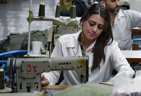 (تصاویر) زنان شاغل در سوریه