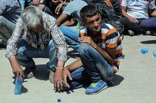 (تصاویر) جمعآوری معتادان خیابانی