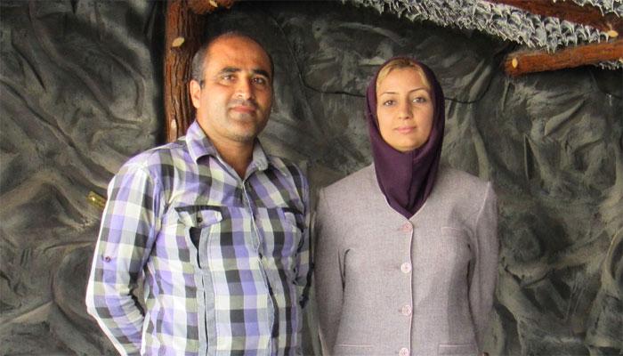 (تصاویر) زندگی زن ایرانی در کنار کروکودیلها