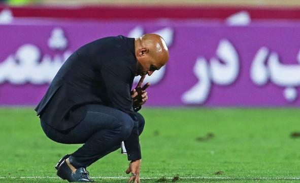 (تصاویر) حرکات منصوریان پس از شکست تلخ در آزادی