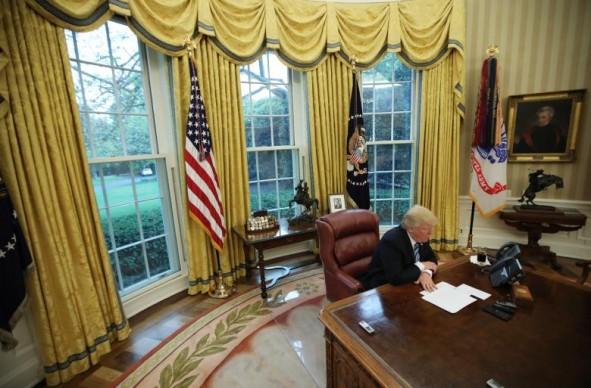 (تصاویر) کاخ سفید پس از بازسازی و تعمیرات
