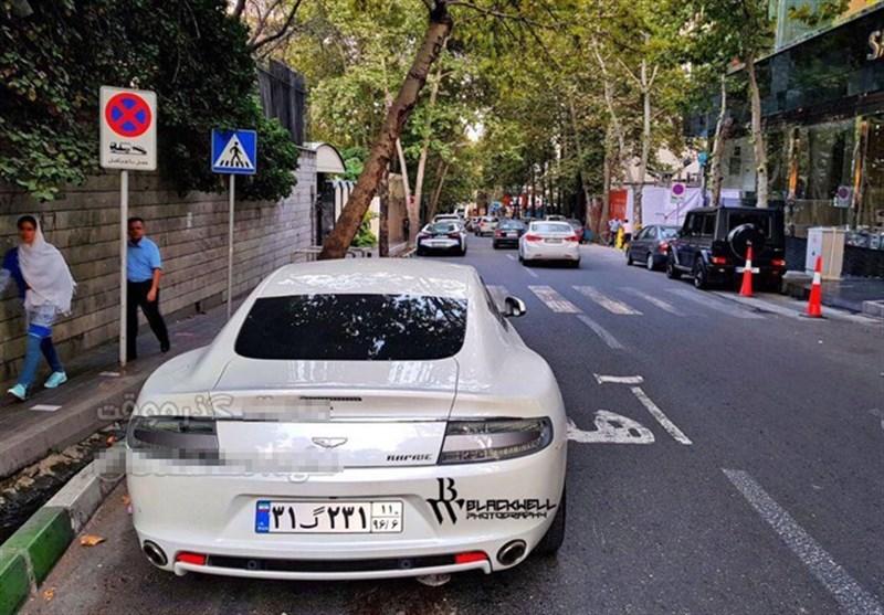 خودروی لاکچری 2میلیاردی در تهران