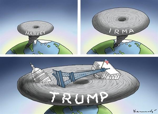 طوفان ترامپ هم رسید! ,