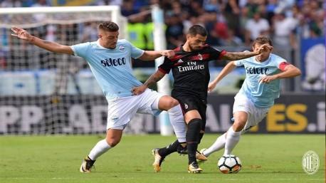 (ویدئو) لاتزیو، میلان را به چهار میخ کشید