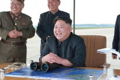 (تصاویر) آزمایش موشکی کرهشمالی