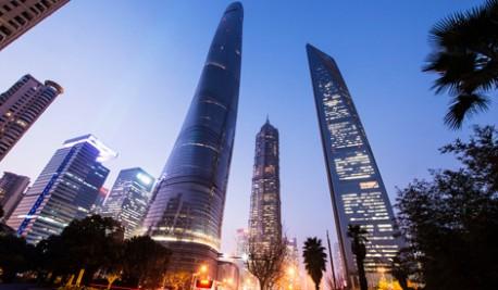 (ویدئو) افتتاح مرتفع ترین آسمانخراش چین