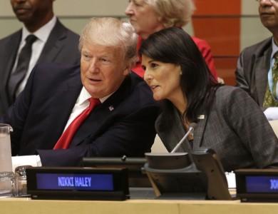 (تصاویر) اولین حضور ترامپ در سازمان ملل