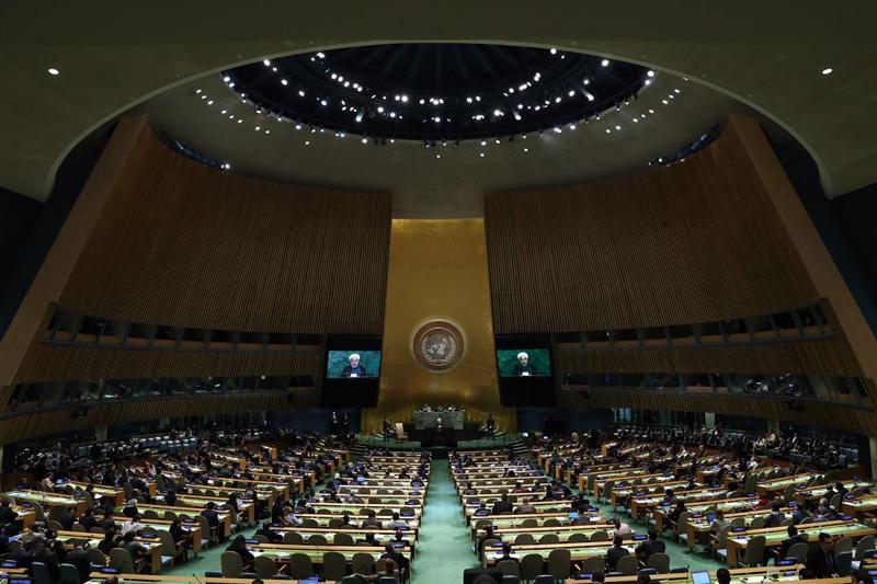 اهل مذاکره ایم اما از موضع برابر و احترام متقابل/ ادبیات رئیس جمهور امریکا در شان سازمان ملل نبود