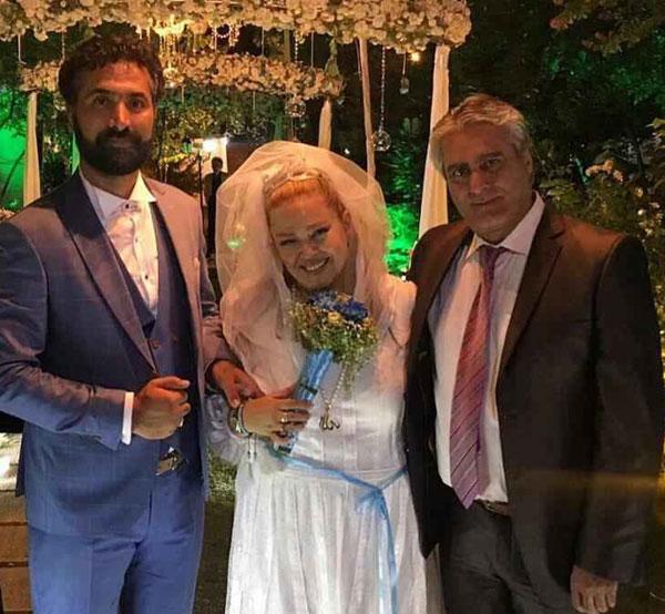 (تصاویر) بهاره رهنما ازدواج کرد
