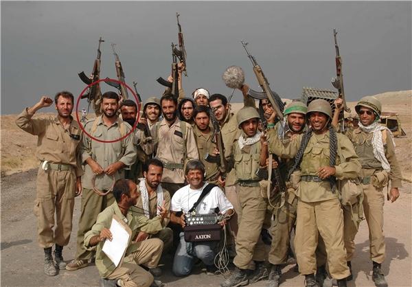 (تصاویر) بازیگر اخراجیها در سوریه شهید شد