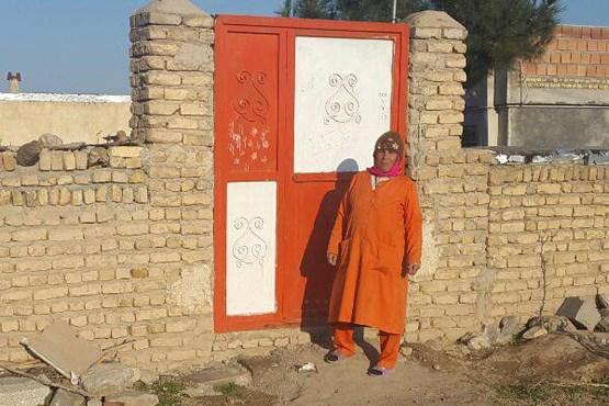 پای درد دل تنها بانوی رفتگر ایران