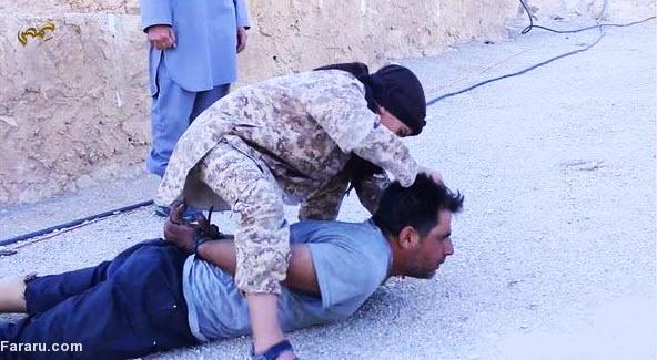 جلاد خردسال داعشی را بشناسید!