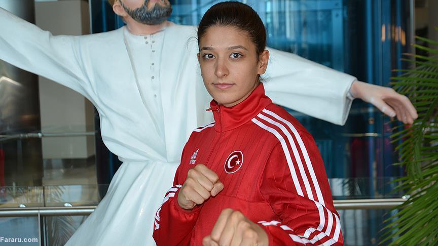 اردوغان به ورزشکار ایرانی: دخترم را اذیت نکن!