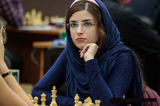 دختر شطرنج باز ایرانی در تیم ملی آمریکا