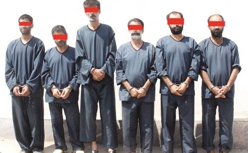 اعدام برای عاملان ١٣ جنایت