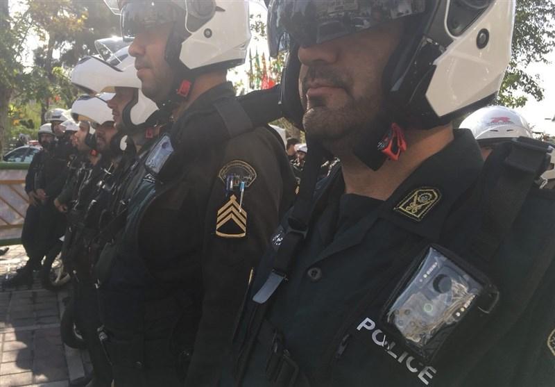 (تصاویر) لباسهای دوربیندار پلیس تهران