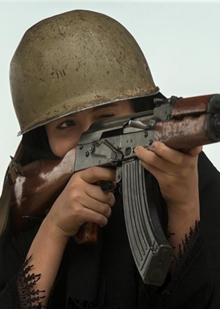 (تصاویر) آموزش نظامی بانوان گردانهای کوثر